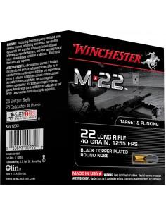 Cartouches M22 cal. 22 LR