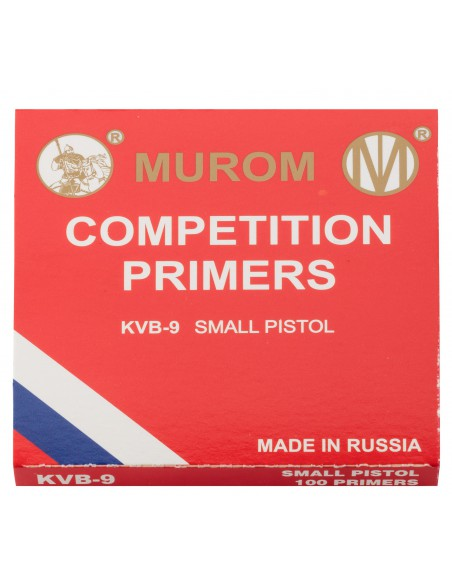 Amorces Murom type Boxer Small Pistol